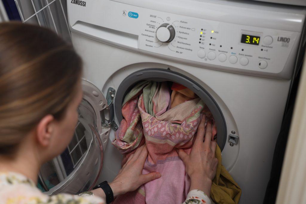 beddengoed wassen