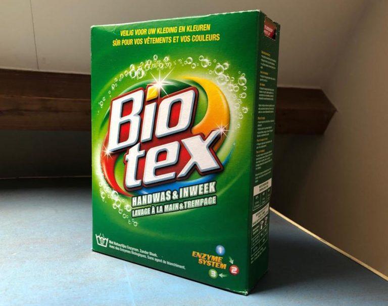 Bio-tex vlekken verwijderen