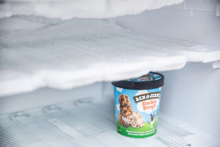 Vriesvak met ijs
