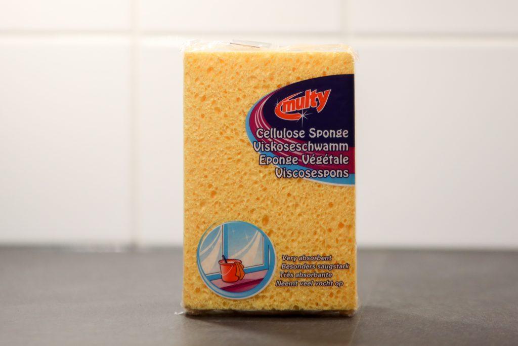 Grote zachte spons