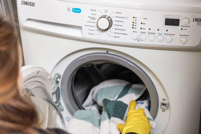 Heet wassen desinfecteren