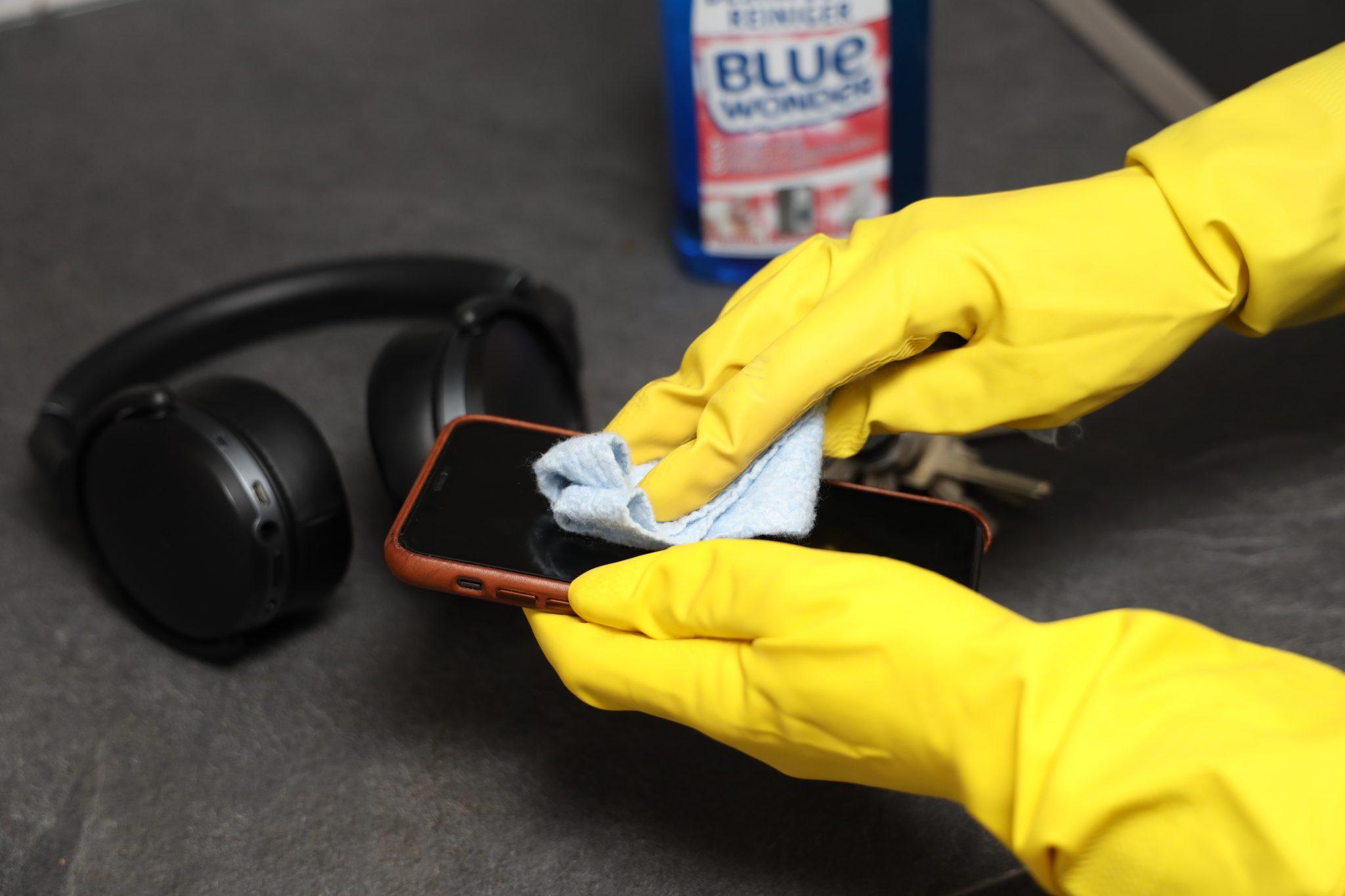 Accessoires desinfecteren