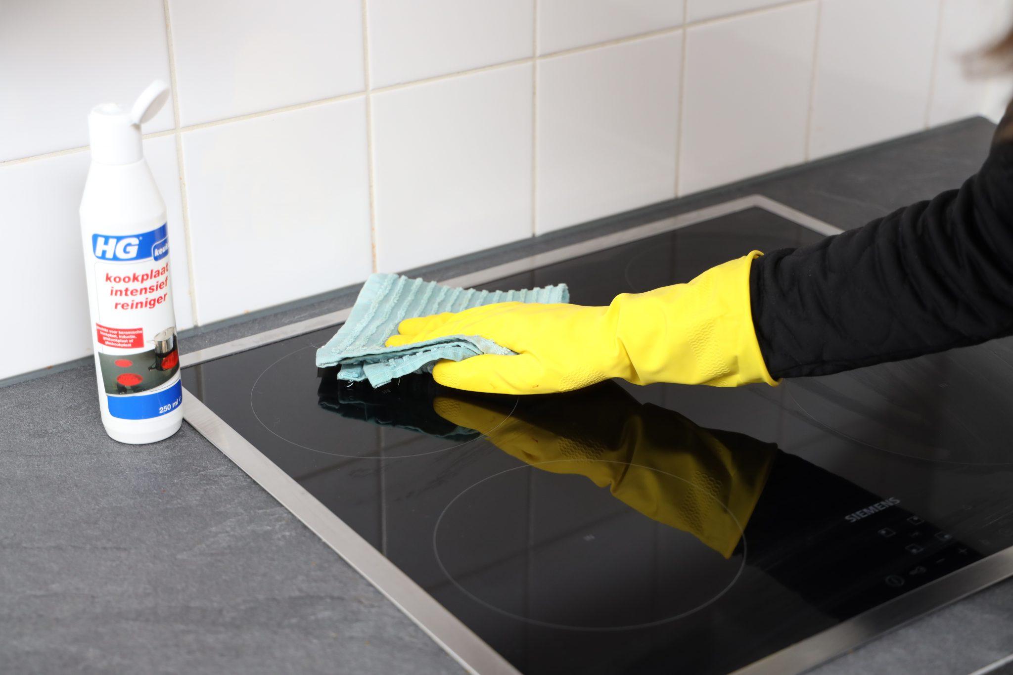 kookplaat afnemen