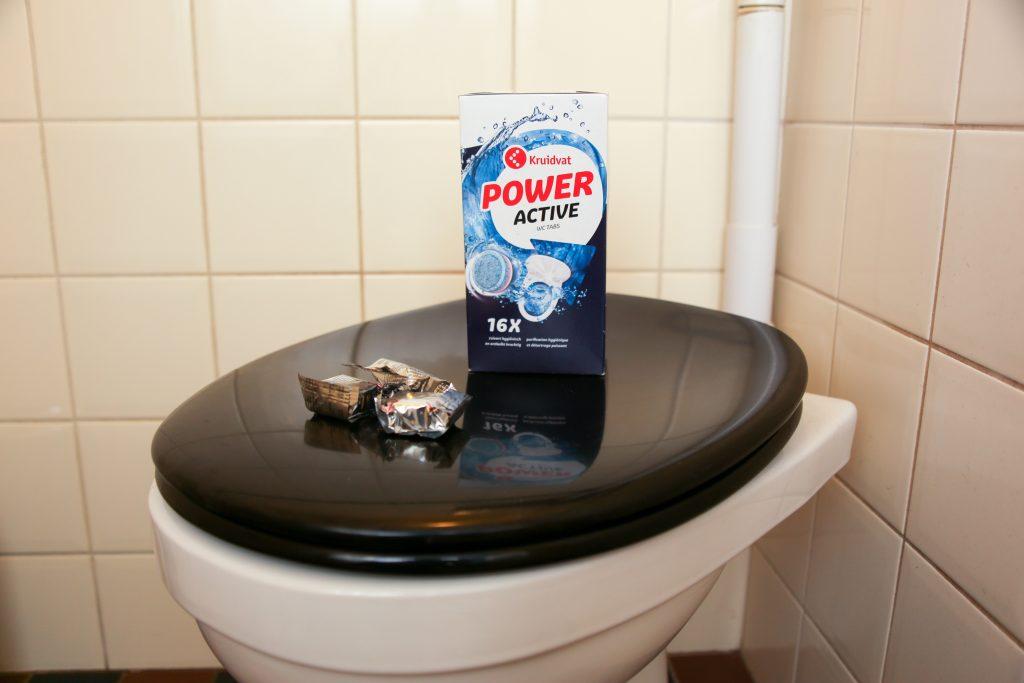 WC tabletten