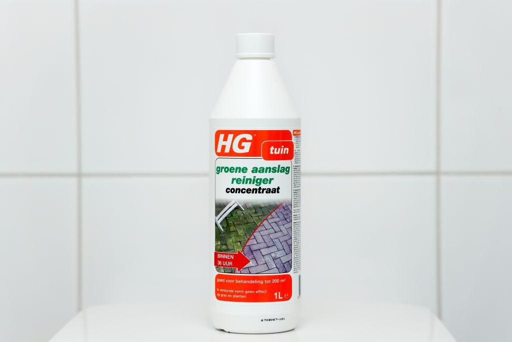 HG groene aanslag verwijderaar