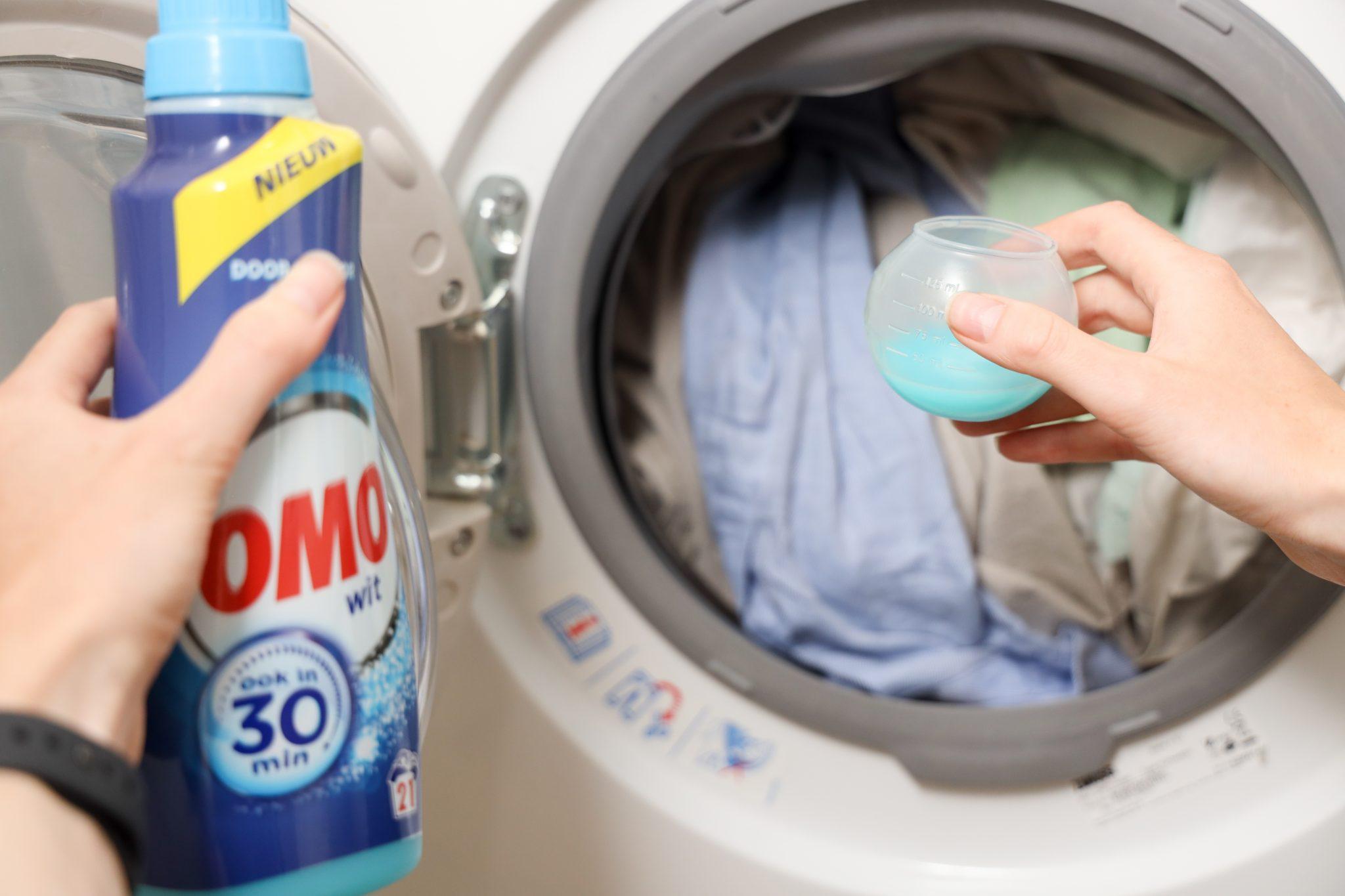 witte kleding wassen