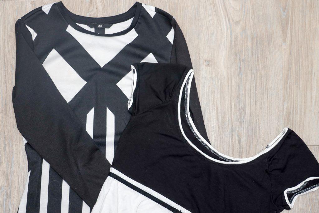 zwart witte kleding wassen