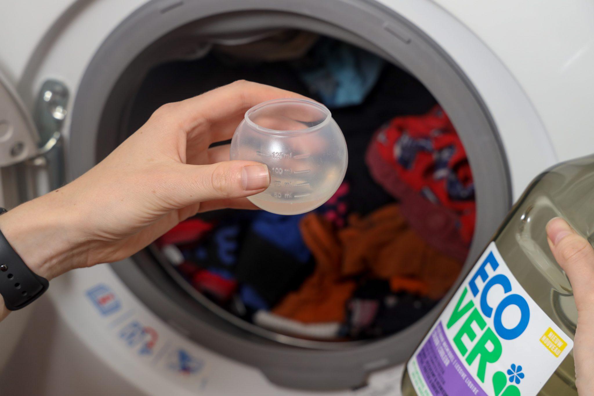 Ecover wasmiddel toevoegen