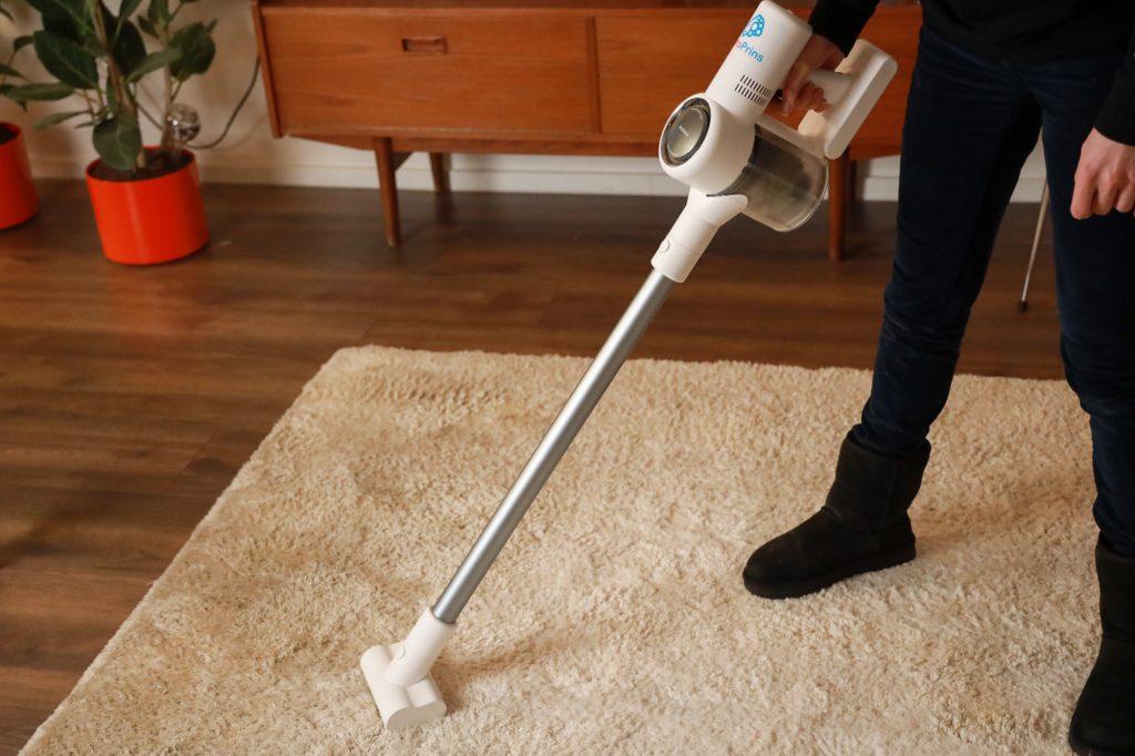 tapijt stofzuigen