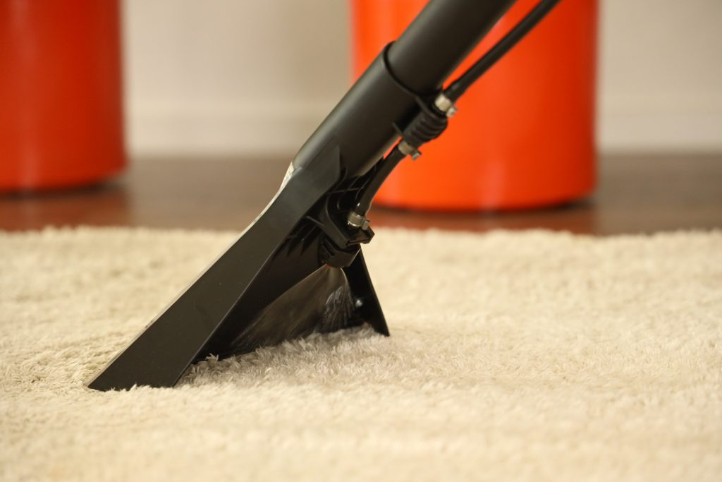 sproeifunctie Kärcher tapijtreiniger