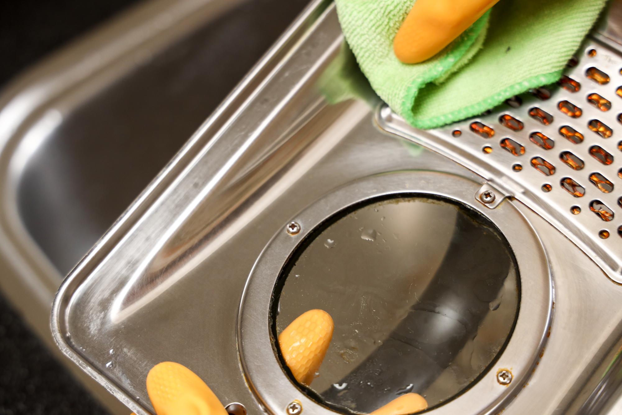 frituurpan schoonmaken