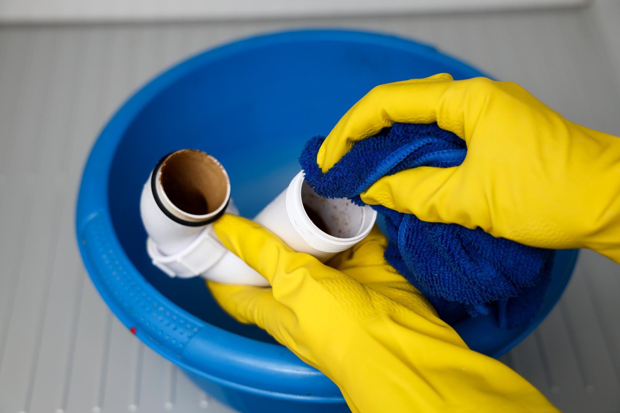 Sifon schoonmaken